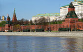 Russian weapons. Rehearsal of military parade near the Kremlin — Foto de Stock