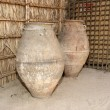 Old Arabic pitchers, Dubai museum, United Arab Emirates,UAE — Stock Photo