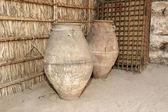 Oude arabische werpers, dubai museum, verenigde arabische emiraten, verenigde arabische emiraten — Stockfoto