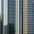 Modern skyscrapers, Dubai Marina, Dubai, United Arab Emirates — Foto Stock