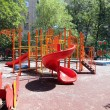 Playground on a sunny summer day — Stock Photo