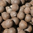 Old cannon balls — Stock Photo #27064081