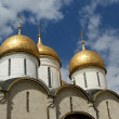 The Assumption Cathedral, Moscow Kremlin, UNESCO World Heritage Site — Stock Photo