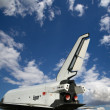 The Buran spacecraft -- Soviet orbital vehicle — Stock Photo