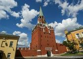 троицкая башня, кремль, россия — Стоковое фото