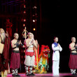 "Action drama ""Legend of Kungfu"", the most exciting kungfu show in the world, ""Red Theater"",  Beijing, China — Stock Photo"