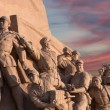Revolutionary statues at Tiananmen Square in Beijing, China — Foto de Stock