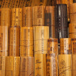 Постер, плакат: Chinese traditional bamboo slips