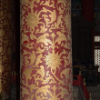 Temple of Heaven (Altar of Heaven)-- Inside the Hall of Prayer for Good Harvests, Beijing, China — Foto de Stock