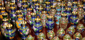Traditional Chinese vases at a Chinese market — Zdjęcie stockowe