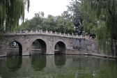 Beihai Park -- is an imperial garden to the northwest of the Forbidden City in Beijing — Stock Photo