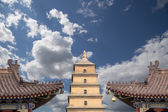 Giant Wild Goose Pagoda or Big Wild Goose Pagoda, is a Buddhist pagoda located in southern Xian (Sian, Xi'an),Shaanxi province, China — Stock Photo