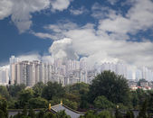 View of the city of Xian (Sian, Xi'an), Shaanxi province, China — Stock Photo