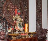 ダルマパーラ (ダルマ プロテクター)、北京、中国の仏教寺院. — ストック写真