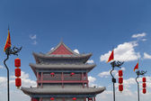 Fortifications of Xian (Sian, Xi'an) an ancient capital of China — Stock Photo