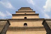 Giant Wild Goose Pagoda (Big Wild Goose Pagoda), is a Buddhist pagoda located in southern Xian (Sian, Xi'an) — Stockfoto