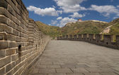 Great Wall of China, north of Beijing — 图库照片