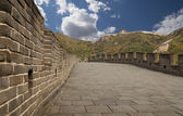 Great Wall of China, north of Beijing — Foto de Stock