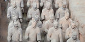 Qin dynasty Terracotta Army, Xian (Sian), China — Stockfoto