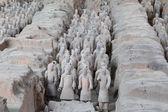 Qin-dynastie terracotta leger, xian (sian), china — Stockfoto