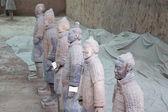 Qin dynasty Terracotta Army, Xian (Sian), China — Stock Photo