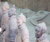 Qin dynasty Terracotta Army, Xian (Sian), China — Stockfoto