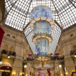 Stock Photo: Interior of the Main Universal Store (GUM) on the Red Square in Moscow, Russia--- mall celebrates 120th aniversary in 2013. Inside view of the impressive structure and finish applied to the building