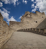 Great Wall of China, north of Beijing — Стоковое фото
