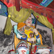 Постер, плакат: Dharmapala protector of dharma Buddhist temple in Beijing China Dharmapala is a type of wrathful deity