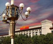Tienanmen meydanı, pekin, çin tarihinde çin'in ulusal müzesi — Stok fotoğraf