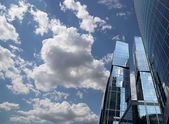 Skyscrapers of the International Business Center (City), Moscow, Russia — 图库照片