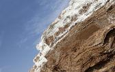 Dode zeezout in jordaan — Stockfoto