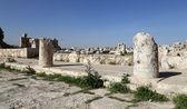 Amman city landmarks-- old roman Citadel Hill,  Jordan — Stockfoto
