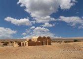 Quseir (Qasr) Amra desert castle near Amman, Jordan. World heritage with famous fresco's. — Stock Photo