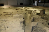 Banpo Museum -- is a museum in Xi'an(Xian, Sian), Shaanxi, China. The museum houses artifacts from the archaeological site of Banpo. — Stock Photo