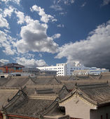 View of the city of Xian (Sian, Xi'an), Shaanxi province, China — ストック写真