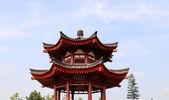 Giant Wild Goose Pagoda (Big Wild Goose Pagoda), is a Buddhist pagoda located in southern Xian (Sian, Xi'an), Shaanxi province, China — Foto de Stock