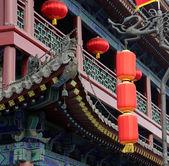 Traditional Buddhist temple, Xian (Sian, Xi'an), Shaanxi province, China — Stockfoto
