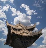 Pagoda starożytnych--Buddyjski pagoda położony w południowej xian (sian, xi'an), prowincji shaanxi, w Chinach — Zdjęcie stockowe