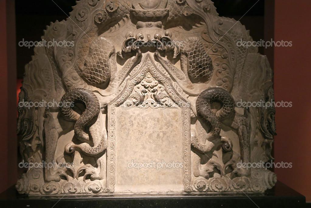 Xian sian xi an beilin museum stele forest