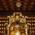 Statue of Xuanzang. Great Wild Goose Pagoda, Xian (Sian, Xi'an), Shaanxi province, China — Stock Photo #49374097