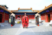 Traditional Buddhist temple, Beijing, China — Foto Stock