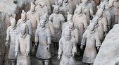 Qin dynasty Terracotta Army, Xian (Sian), China — Foto de Stock