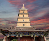 Giant Wild Goose Pagoda or Big Wild Goose Pagoda, is a Buddhist pagoda located in southern Xian (Sian, Xi'an),Shaanxi province, China — Stockfoto