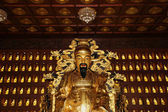 Statue of Xuanzang. Great Wild Goose Pagoda, Xian (Sian, Xi'an), Shaanxi province, China — Stock Photo