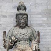 буддийский храм. статуя будды – пекин, китай — Стоковое фото