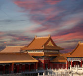 Forbidden City, Beijing, China -- was the Chinese imperial palace from the Ming Dynasty to the end of the Qing Dynasty — Stock Photo