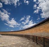 En el territorio del templo del cielo (altar del cielo), beijing, china — Foto de Stock