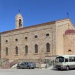 Greek Orthodox Basilica of Saint George in town Madaba, Jordan,  Middle East — Stock Photo #51608163