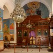 The interior Greek Orthodox Basilica of Saint George in town Madaba, Jordan,  Middle East — Stock Photo #51607931